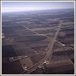 Aerial Photo of Rural West Texas
