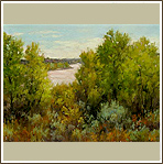 Early Fall Landscape on the Llano Estacado