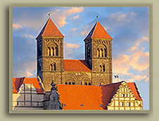 Cathedral in Quedlinburg, Germany