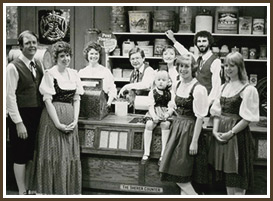 German Dancers in Mercantile